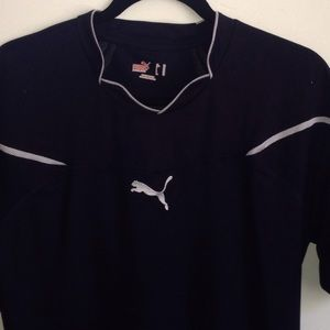 Puma usp dark blue athletic shirt xL